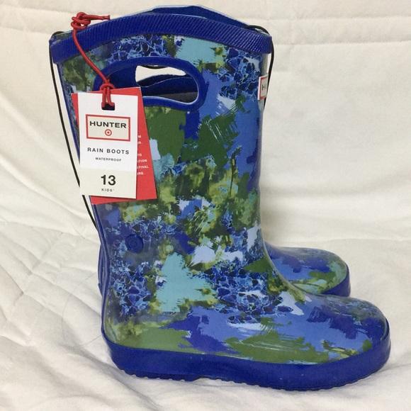 4113d7274e3 Hunter for target kid rain boots NWT